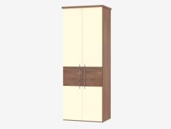 Modular two-door cabinet 4 (90,6х235,9х62)