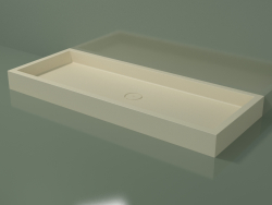 Base de duche Alto (30UA0114, Bone C39, 180x70 cm)