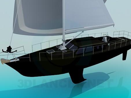 3d model Sailboat - preview
