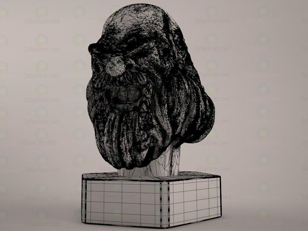 3d модель Карликовая статуя – превью