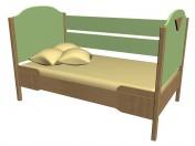 Кровать с ограждением 63КВ05