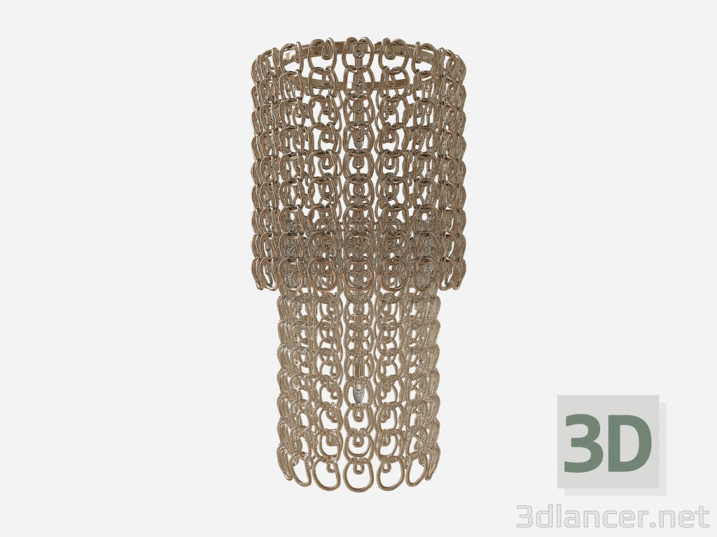 3d model Ceiling light Crystal chandelier - preview