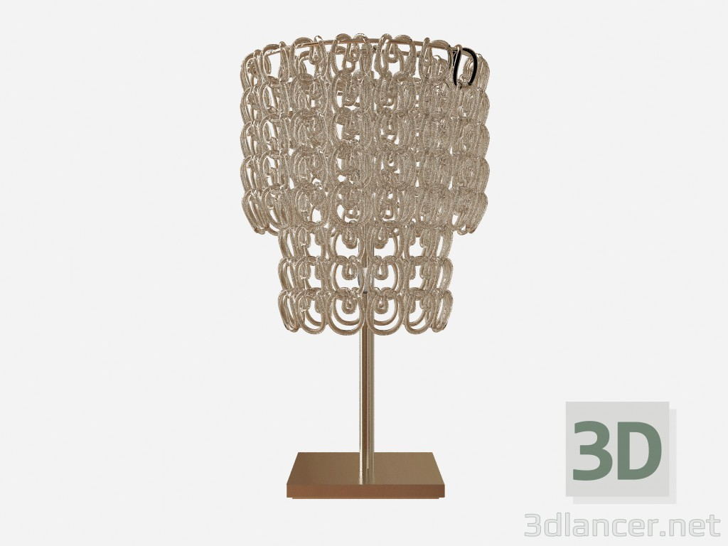 3d model Table lamp, Crystal lamp - preview