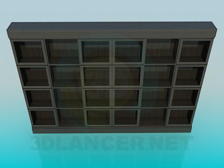 3d model Gabinete - vista previa