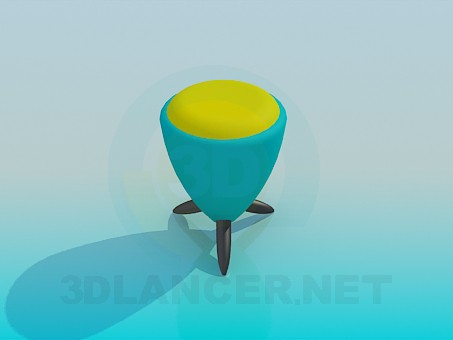 3d modeling Ottoman model free download