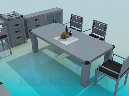 3d model Room furniture - preview