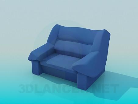 3d моделювання Велике і зручне крісло модель завантажити безкоштовно