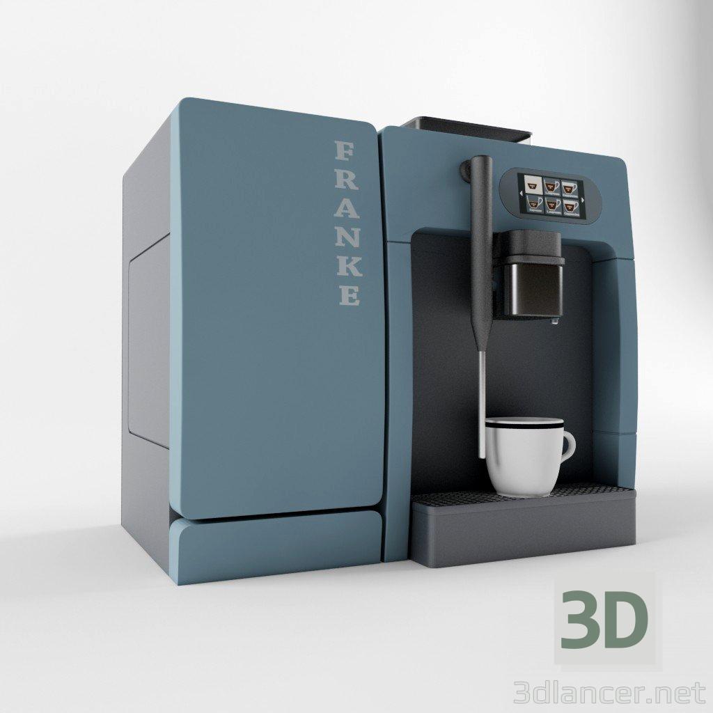 3d Franke A200 FM1 coffeemaker model buy - render