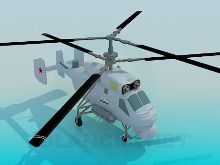 3d modeling KA-25A model free download