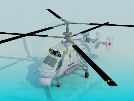 modelo 3D KA-25A - escuchar