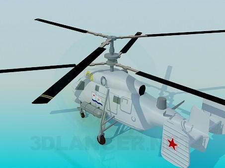 3d модель КА-25А – превью