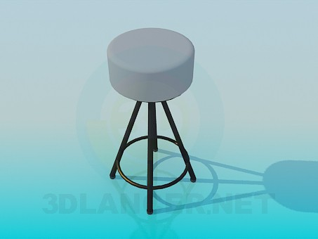 3d modeling Stool model free download