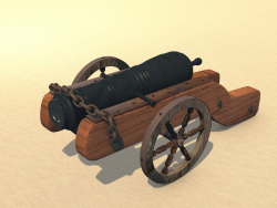 Garmata (cannon) Cossack (real, original)