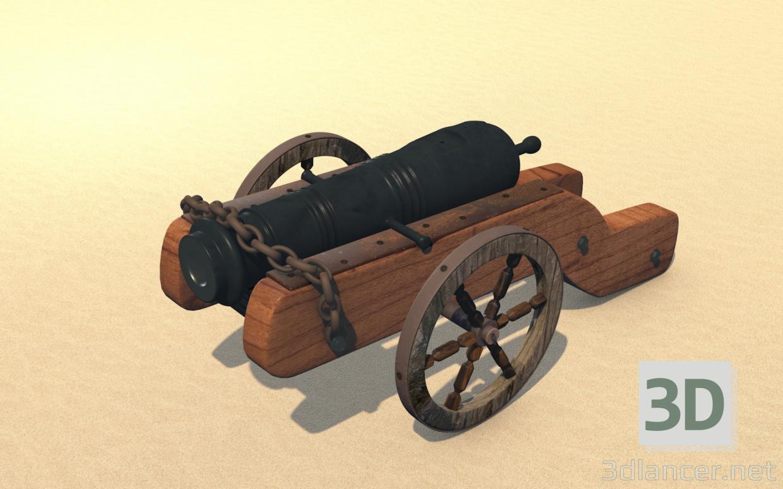 3d model Garmata (cannon) Cossack (real, original) - preview