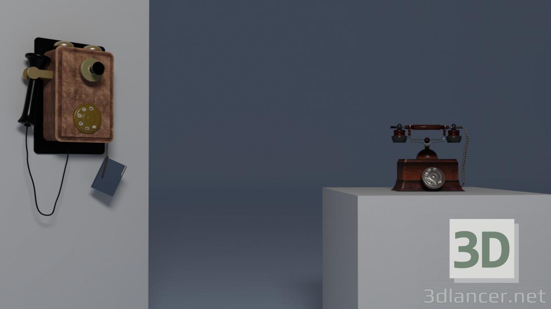 3d старі телефони модель купити - зображення