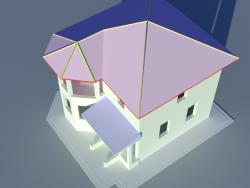 maison à deux étages