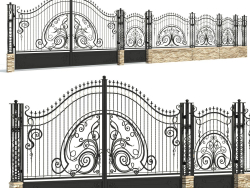 Forged fence # 01