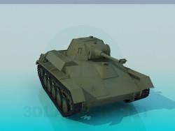 Советский легкий танк Т-70