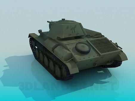 3d model E-70 - preview