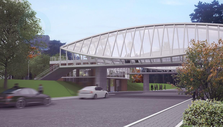 3d модель Мост 2 – превью