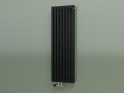 Radiateur vertical RETTA (8 sections 1200 mm 60x30, noir brillant)