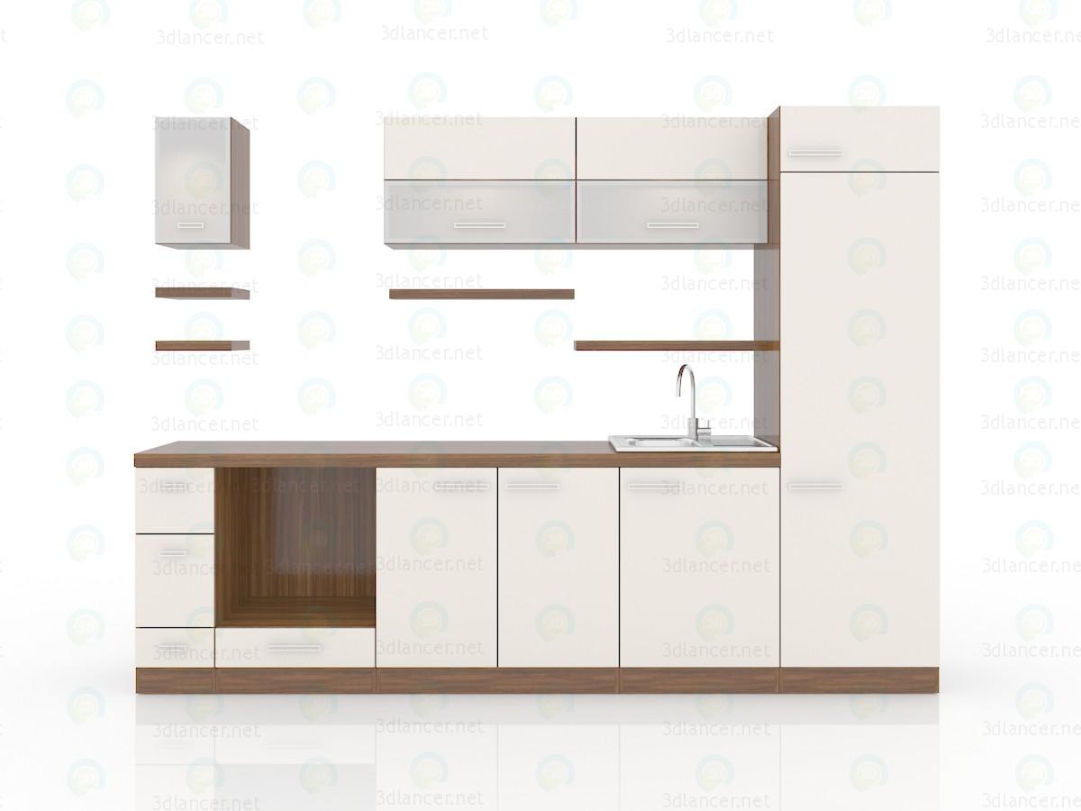 3d модель Сучасна кухня – превью