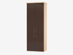 Modular two-door cabinet 10 (90,6х235,9х62)