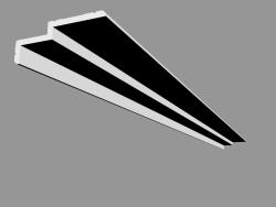 Profile for curtains C391 - Steps (200 x 6 x 16 cm)