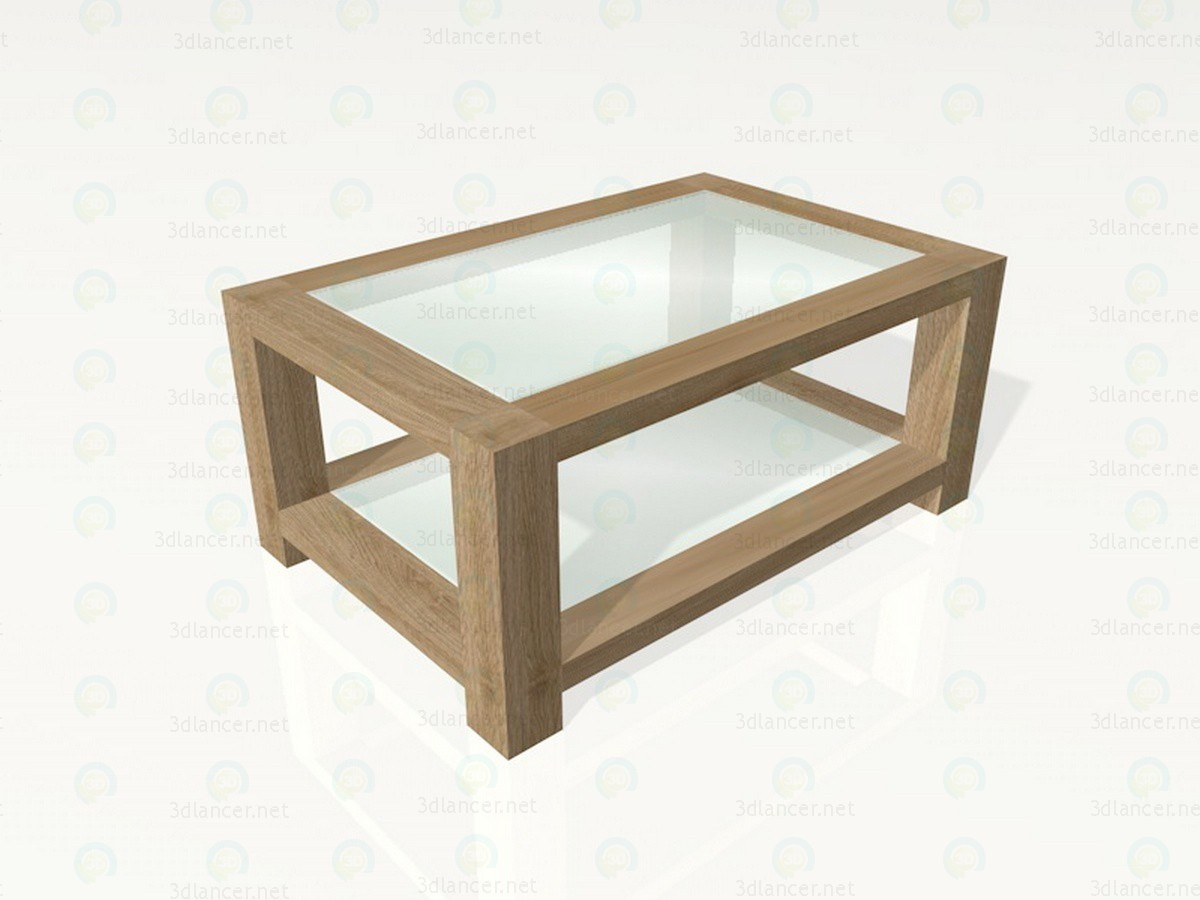 3d modeling Coffee table in Japanese style model free download
