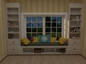 Mueble con Ventana Cuarto