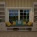 3d model okno - preview