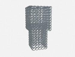 Потолочный светильник Crystal chandelier (квадратный)