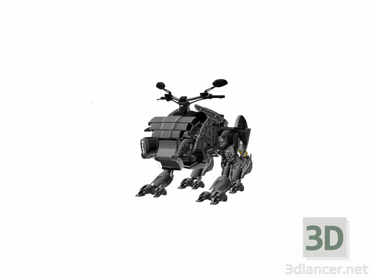 3d modeling ROBOT model free download