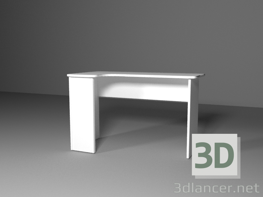 3d model Table for PC - preview