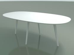 Mesa oval 3507 (H 74 - 200x110 cm, M02, L07, opção 1)