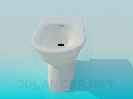 3d model Bidet - preview