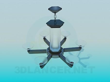 3D modeli Avize-fener - önizleme