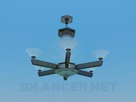 3d model Chandelier-Lantern - preview