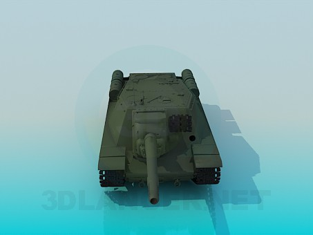3d модель SU-152 – превью