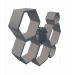 3d Shelf in the form of honeycombs model buy - render