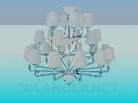 3d modeling A large chandelier model free download