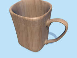 Square mug .. well, almost.
