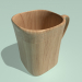 3d model Square mug .. well, almost. - preview