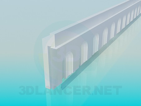 modelo 3D Filete - escuchar