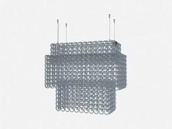 Потолочный светильник Crystal chandelier recta