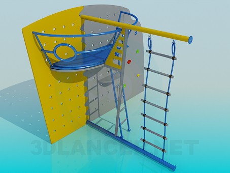 3d model Sports Children's Furniture - preview