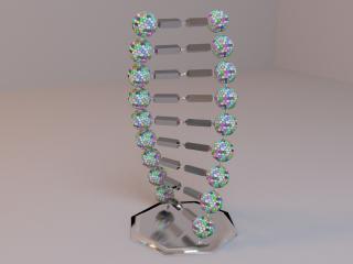DNA statuette