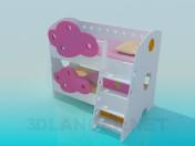 Twofloor crib