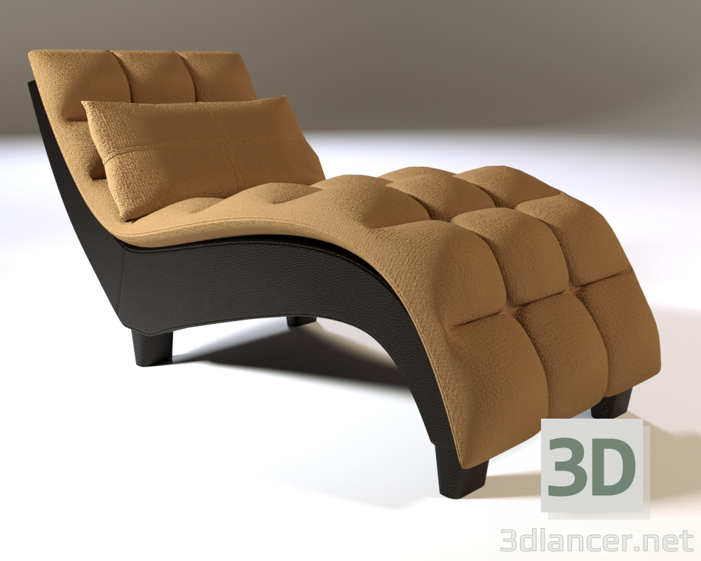 3d Couch model buy - render
