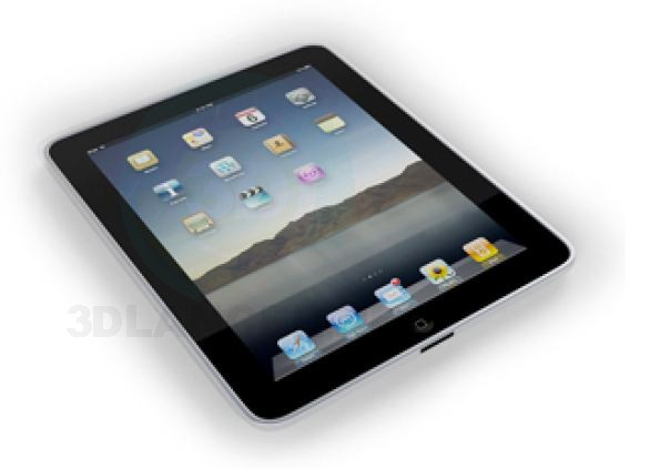 3d modeling Tablet model free download